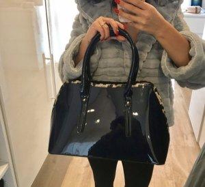 Tasche blau Lack