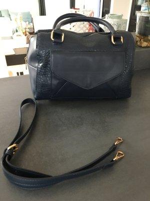 Tasche blau - neuwertig - MOHITO