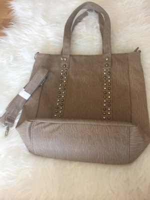 Deichmann Carry Bag light brown-grey brown