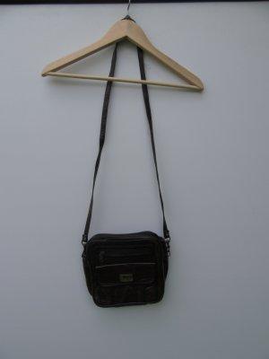 Tasche braun Vintage Retro Umhängetasche