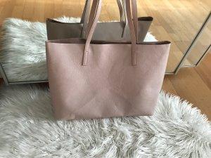 H&M Shopper light pink