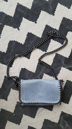 Borse in Pelle Italy Crossbody bag azure-light grey leather