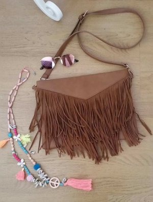 Pimkie Fringed Bag multicolored