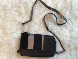 Liebeskind Gekruiste tas zwart-zilver