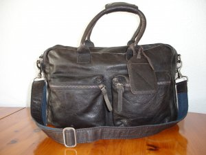 Cowboysbag Crossbody bag anthracite leather