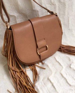 H&M Fringed Bag multicolored