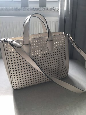 Mango Shopper gris clair