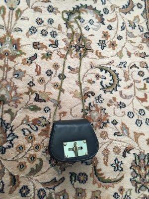 Tasche Damen Marke: Biba echtes Leder mit Kette neu