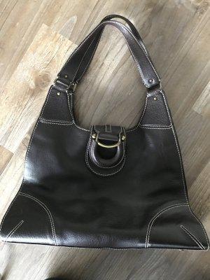 Tasche der Marke Aigner/ dunkel braun