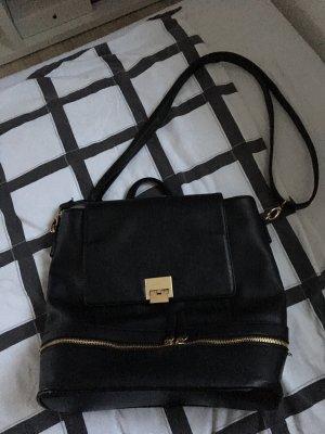 Tasche, die auch als Rucksack getragen werden kann