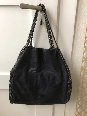 Tasche, dunkelblau im Stil von StellaMcCartney