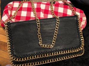 Gekruiste tas zwart