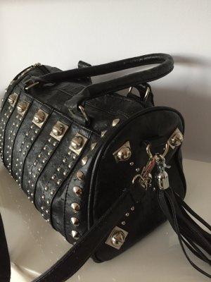 Handbag black-grey