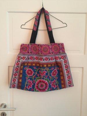 Tasche Floral Bag Ibiza Ibizabag Blumen Hippie Boho Stickerei Blumenstickerei