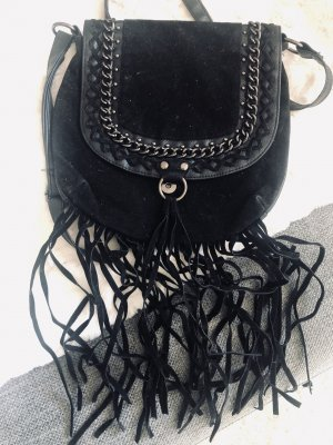 Primark Tas met franjes zwart
