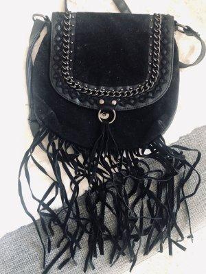 Primark Fringed Bag black
