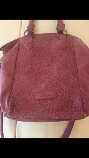 Tasche Fritzi aus Preußen rosa Shopper Umhängetasche Schultertasche Handtasche