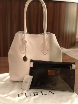 Furla Carry Bag white-natural white
