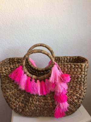 Isla Ibiza Bolso tipo cesta multicolor