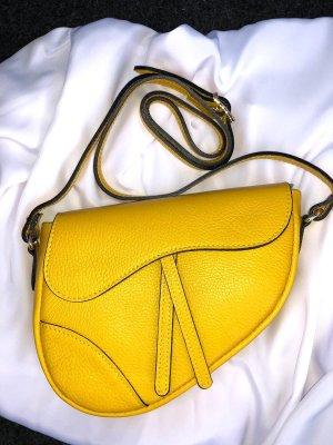 Borsa a spalla giallo