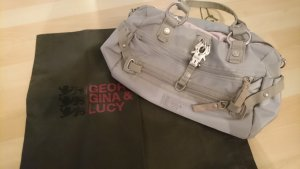 George Gina & Lucy Canvas Bag light grey-oatmeal