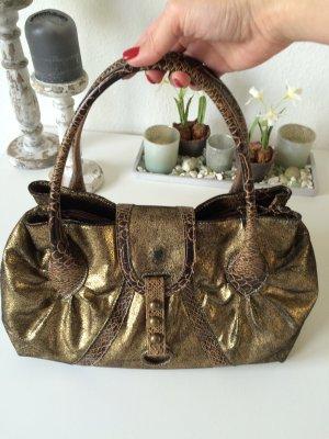 Tasche * gold/bronzefarben * von Bianco
