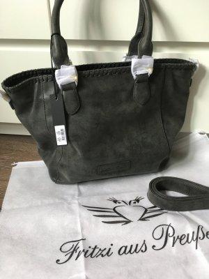 Tasche grau schwarz Handtasche shopper Umhängetasche neu fritzi aus preußen