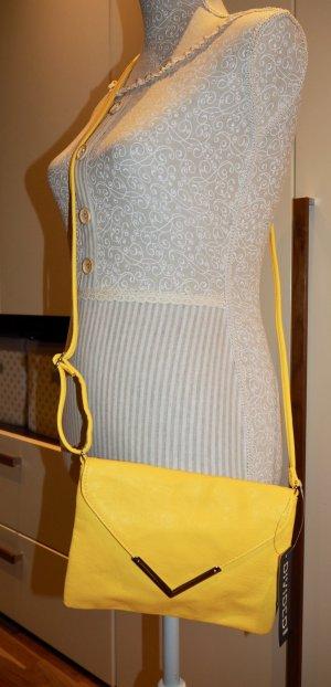 H&M Borsa a spalla giallo Finta pelle