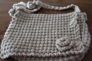Handmade Crossbody bag camel