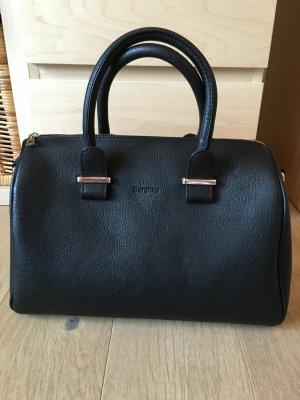 Tasche Handtasche groß schwarz Bershka Blogger