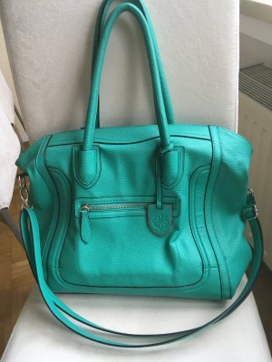 Tchibo / TCM Carry Bag black-turquoise