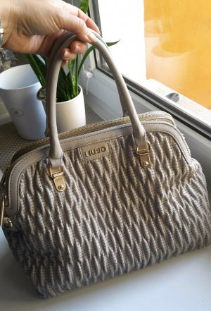 Tasche, Handtasche, Liu Jo, Grau, Elegant, NP 150€ Unhängeriemen