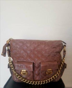 Tasche Handtasche Marc Jacobs braun gold Leder