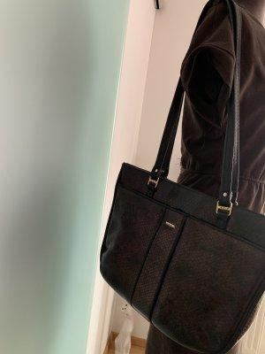 Tasche Handtasche Schlangen Muster Michele B.