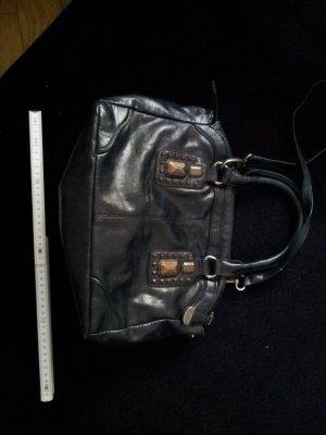 Tasche Handtasche Umhängetasche Esprit Lederimitat Nieten