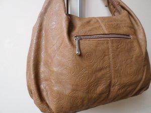 Tasche Handtasche von DAVIO JONES braun Neu