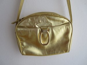 Bally Mini Bag gold-colored leather