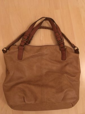 Handbag brown-camel