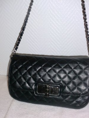 Carry Bag black-anthracite imitation leather