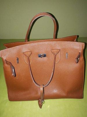Frame Bag cognac-coloured