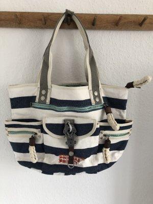 George Gina & Lucy Shoulder Bag white-blue