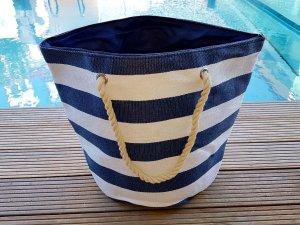 Carry Bag white-blue