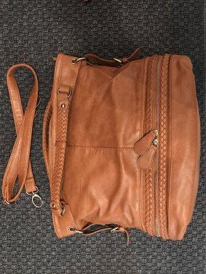 Tasche in Conac mit Frenchbraid Details