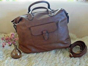 Tasche in hellbraun von Anna Field NEUWERTIG