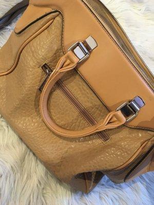 Tasche in Lederoptik  mit schönem Muster