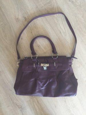 Tasche in lila/2x benutzt