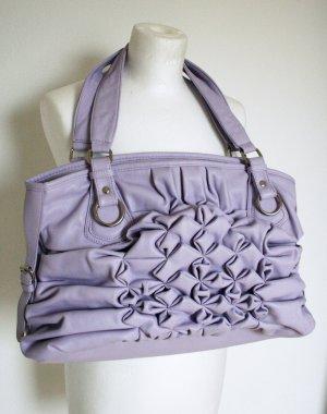 Tasche in Lila mit Rüschen