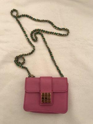 Tasche in Mini Farbe pink