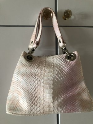 Carry Bag pink-natural white