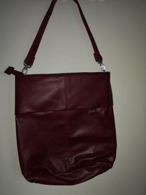 Tasche in Weinrot